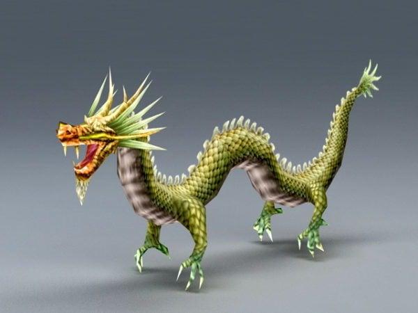 Muinainen kiinalainen lohikäärme