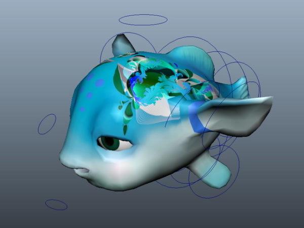 الرسوم المتحركة الأسماك الكرتون