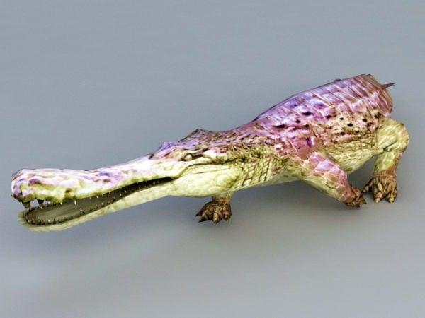 التمساح الأرجواني الوحش