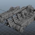 Sci-fi War Vehicle
