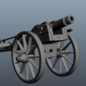 Old Artillery Cannons