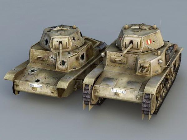 Italian M13 / 40 säiliö