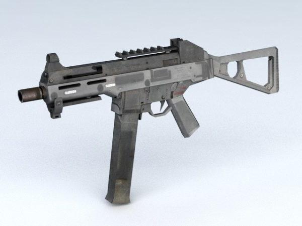 Hk Mp5 Submachine Gun