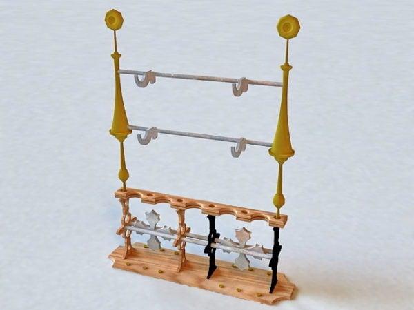 Medieval Weapon Rack