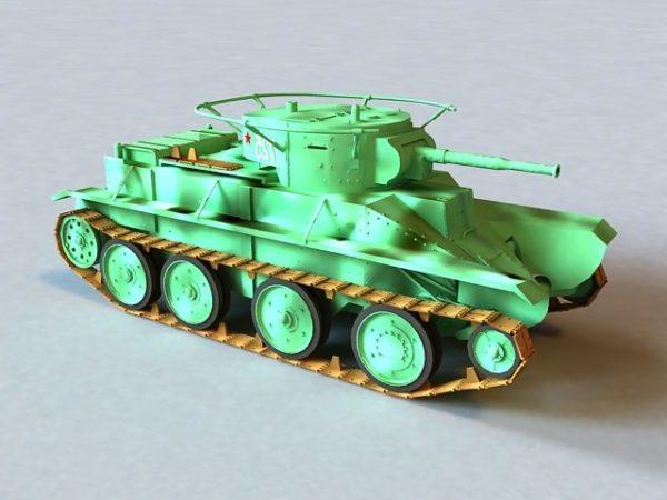 Russian Bt-5 Tank