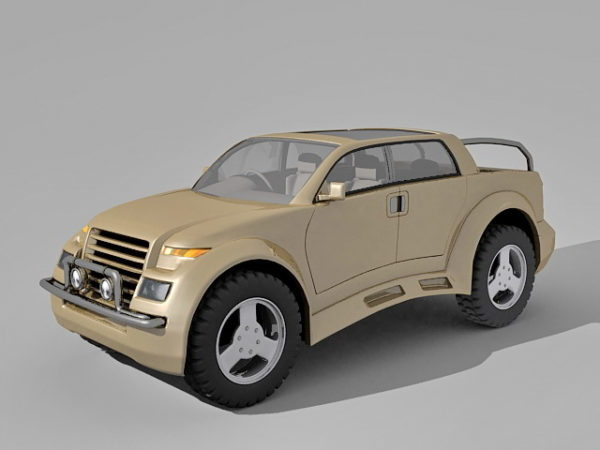 Pick Up Suv Concept