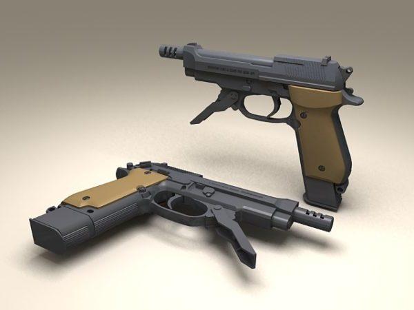 Beretta 93r Pistol