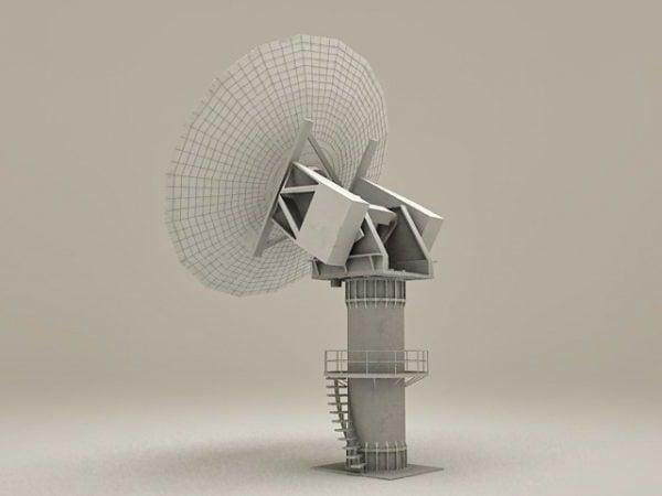 Military Radar Tower
