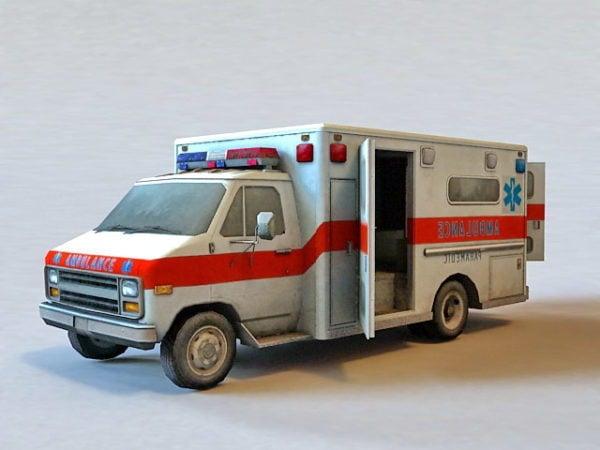 Ambulancia del hospital