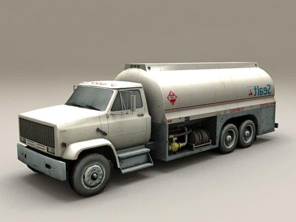 Camión de combustible de aviación del aeropuerto
