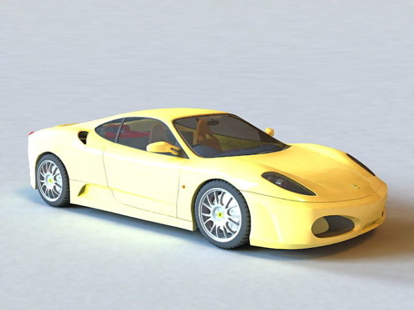 Ferrari F430 Yellow