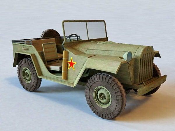 Gaz-67 Jeep
