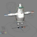 Cartoon Man Rig