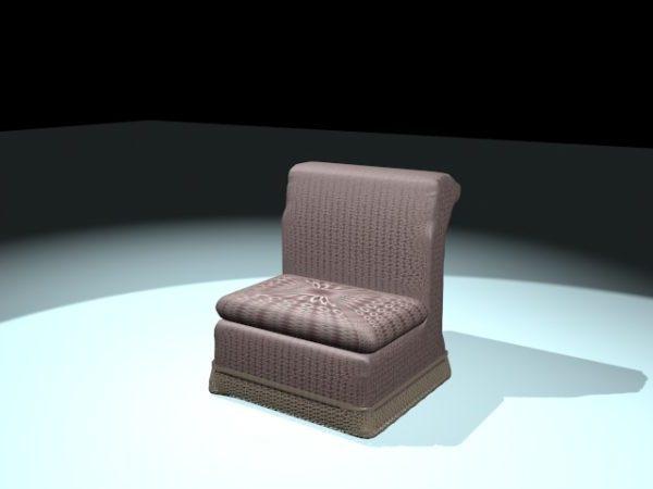 Upholstered Legless Chair