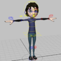 Cartoon Boy Rig