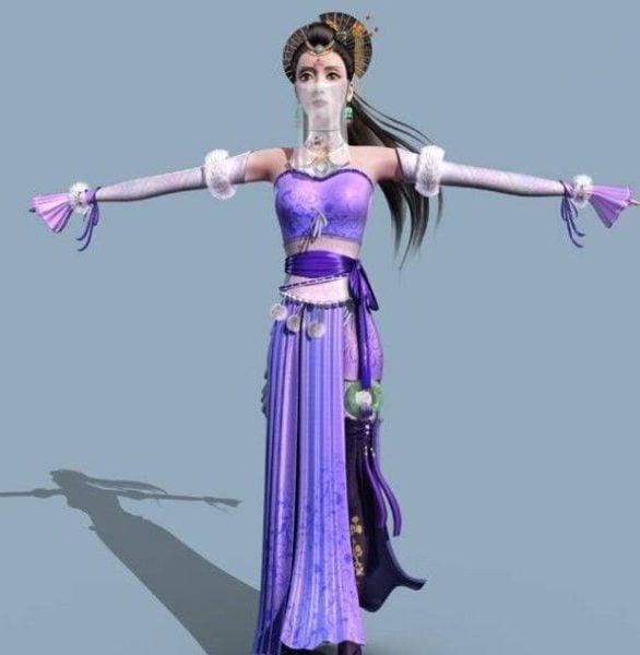 Medieval Princess With Veil