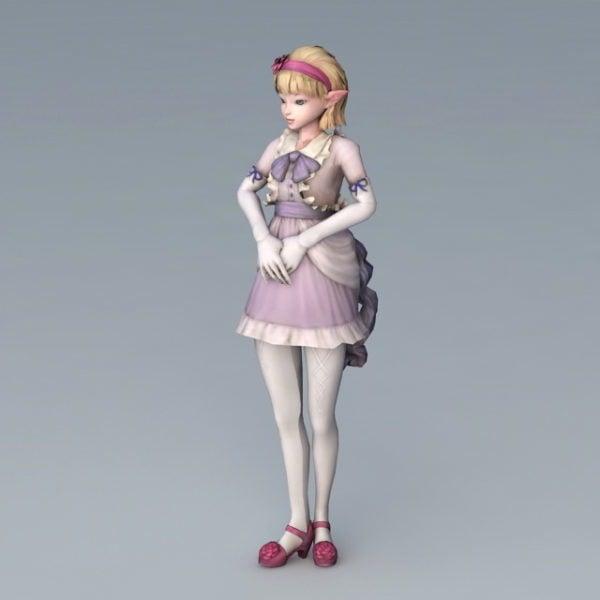 High Elf Girl