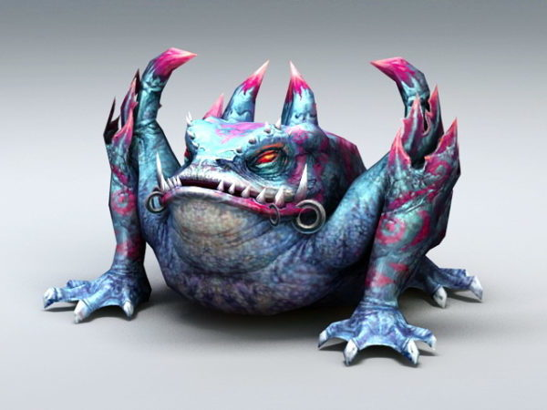 Giant Toad Monster