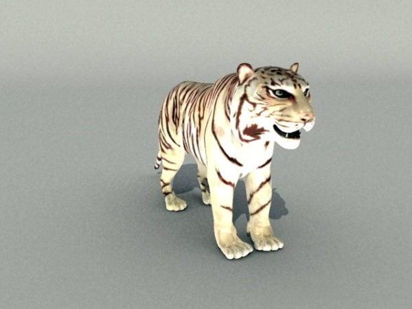 Tigre blanco Rigged