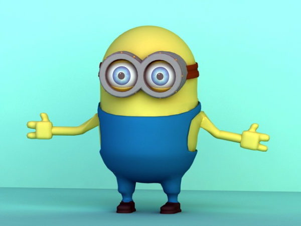 Minion Rigged