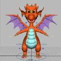 Cute Fire Dragon Rig