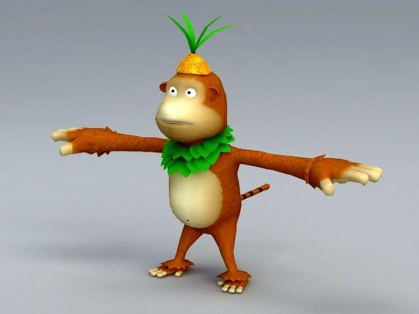 Cartoon Monkey