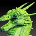 Dragon Head Skulptur