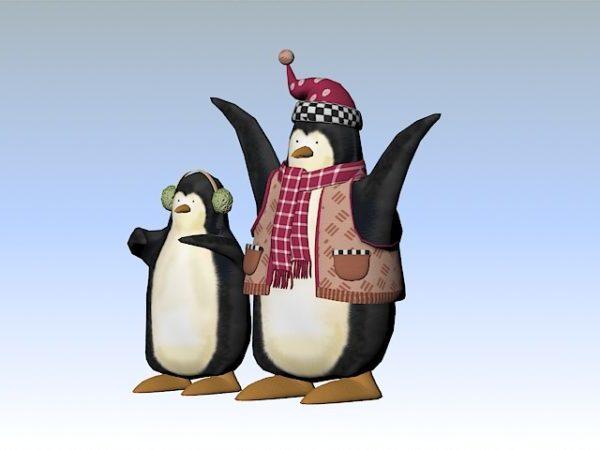 Joulu pingviinit