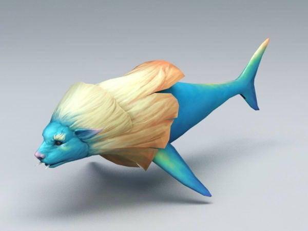 الأسد رئيس الأسماك