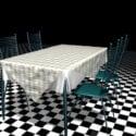 Metalliset ruokasali-sarjat