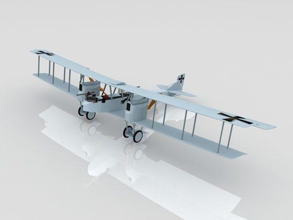German Ww1 Gotha Iv Bomber