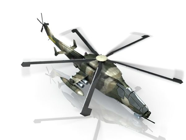 Chinese Military Attack Helicopter