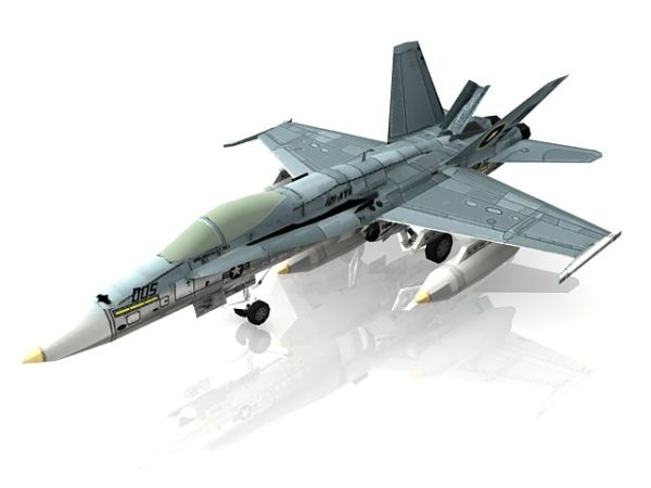 Avión de combate F18