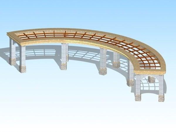 Park Pergola Structures