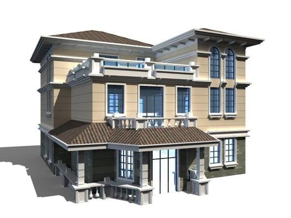 Modern Chinese House