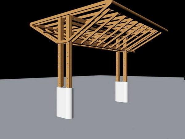 Outdoor Pergola Design