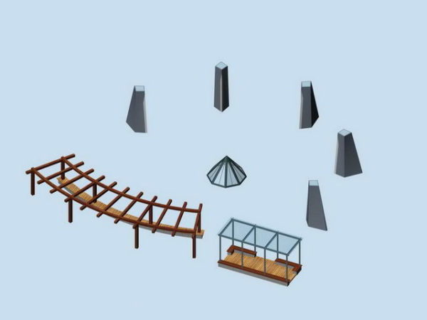 Outdoor Pergola Shade Landscape Structure