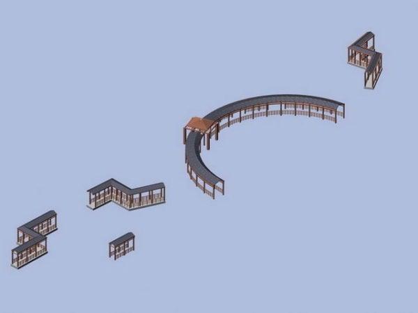 Landscape Pergola Design