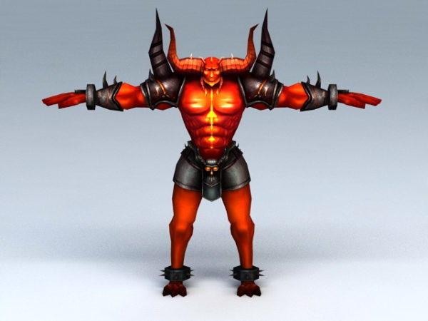 Demon Bull Warrior