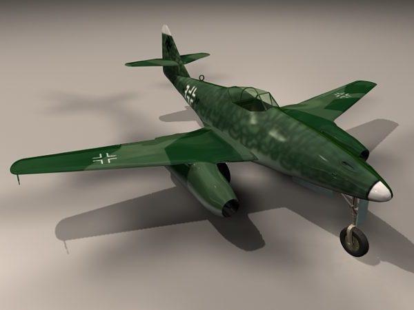 Me 262 Schwalbe-hävittäjälentokoneet