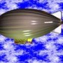 Modern Zeppelin Airship