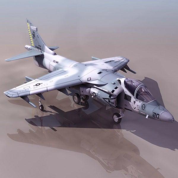 Avión Harrier Jump Jet Strike