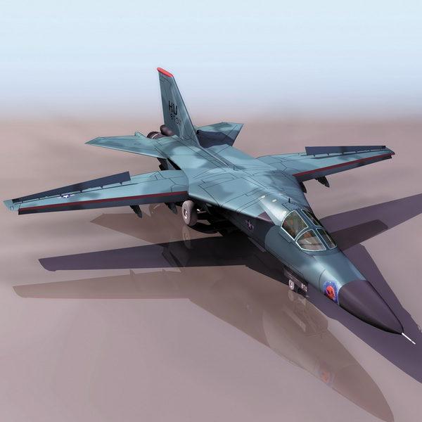F-111 Aardvark Fighter-bomber Aircraft