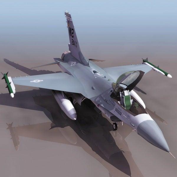 Aviones de combate multiusos F-16