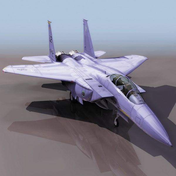 Mcdonnell Douglas F-15e Strike Fighter