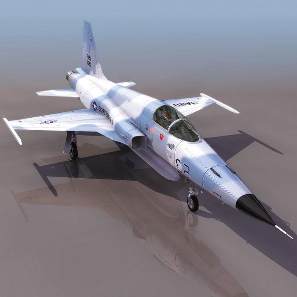Usaf F-5f Tiger Ii Fighter Aircraft