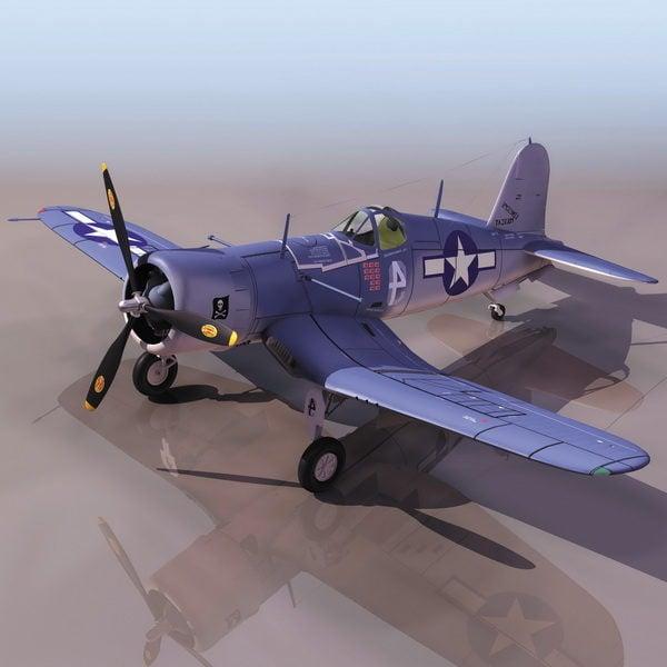 American F4u-1 Corsair Fighter Aircraft