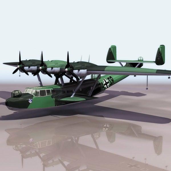 German Dornier Do 24 Flying Boat