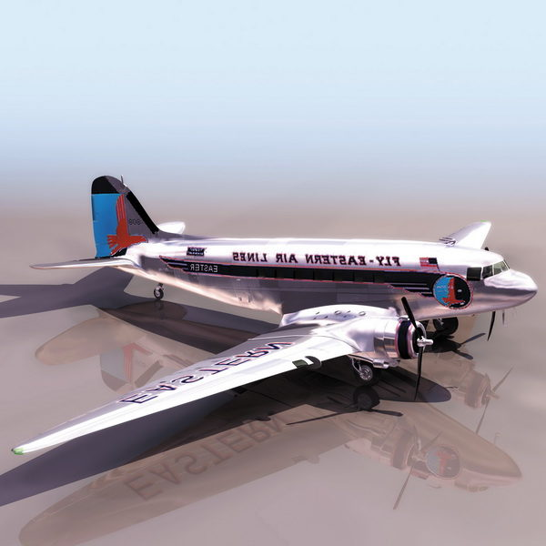 Douglas Dc-3 Airliner