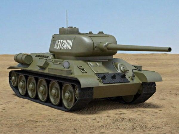 T-34-85 säiliö